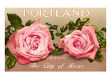 Portland  Oregon  City of Roses