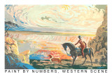 Paint by Numbers  Western Scene