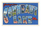 Greetings from Conneaut Lake  Pennsylvania