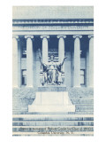 Library  Statue  Columbia University  New York City