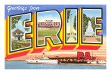 Greetings from Erie  Pennsylvania