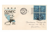 First Day Cover Philatelic Issue  Olympic Games