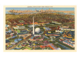 Overview of New York World's Fair  1939