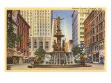 Fountain Square  Cincinnati  Ohio