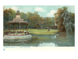 Congress Spring Park  Saratoga  New York