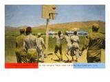 Basketball on Army Base  Salt Lake City  Utah