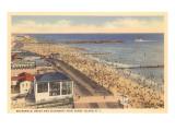 Beach and Boardwalk  Coney Island  New York City