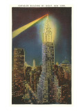 Beacon on Chrysler Building  New York City