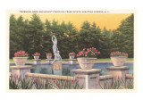Fountain  Trask Estate  Saratoga Springs  New York