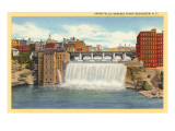 Upper Falls  Genesee River  Rochester  New York