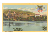 West Point from Hudson River  New York