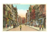Mott Street  Chinatown  New York City