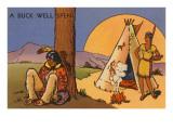 A Buck Well Spent  Indian Cartoon