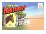Postcard Folder  Scenic Kentucky