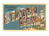 Greetings from Staten Island  New York