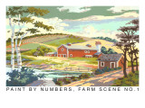 Paint by Numbers  Farm Scene Number One
