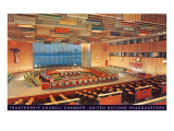United Nations Trusteeship Council Chamber  New York City