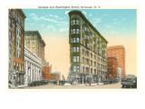Genesee and Washington Streets  Syracuse  New York