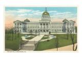 State Capitol  Harrisburg  Pennsylvania