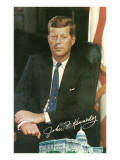 Painting of John F Kennedy