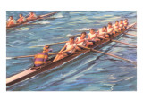 Eight-Man Rowing