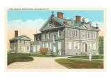 Chew Mansion  Germantown  Philadelphia  Pennsylvania