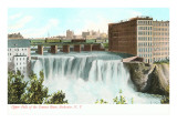 Upper Falls  Genesee River  Rochester  New York