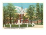 Barry Statue  Independence Hall  Philadelphia  Pennsylvania