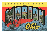 Greetings from Marion  Ohio