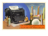 14-Ton Typewriter  New York World's Fair  1939