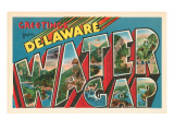 Greetings from Delaware  Water Gap  Pennsylvania