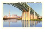 Lorain Carnegie Bridge  Cleveland  Ohio