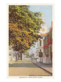 Orange Street  Nantucket  Massachusetts