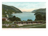 Hudson River  West Point  New York