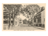 Center Street  Nantucket  Massachusetts