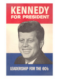 Kennedy for President Poster