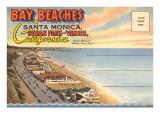Postcard Folder  Santa Monica  California
