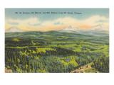 Mt St Helens  Mt Rainier  Mt Adams