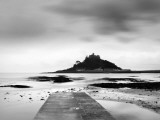 St MichaelS Mount at Sunrise  Cornwall  UK