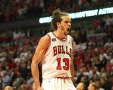 Miami Heat v Chicago Bulls - Game Five  Chicago  IL - MAY 26: Joakim Noah