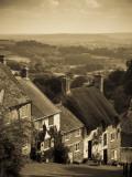 UK  England  Dorset  Shaftesbury  Gold Hill