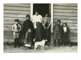 Midwest Immigrant Family with Dog