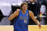 Dallas Mavericks v Miami Heat - Game One  Miami  FL - MAY 31: Dirk Nowitzki
