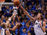 Oklahoma City Thunder v Dallas Mavericks - Game Five  Dallas  TX - MAY 25: Russell Westbrook  Jason