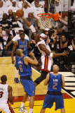 Dallas Mavericks v Miami Heat - Game One  Miami  FL - MAY 31: Chris Bosh and Tyson Chandler