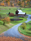 USA  New England  Vermont  Woodstock  Sleepy Hollow Farm in Autumn/Fall