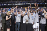 Oklahoma City Thunder v Dallas Mavericks - Game Five  Dallas  TX - MAY 25: Mark Cuban