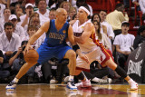 Dallas Mavericks v Miami Heat - Game One  Miami  FL - MAY 31: Jason Kidd and Mike Bibby