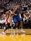 Dallas Mavericks v Miami Heat - Game One  Miami  FL - MAY 31: Shawn Marion and Dwyane Wade