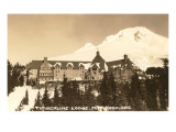 Timberline Lodge  Mt Hood  Oregon